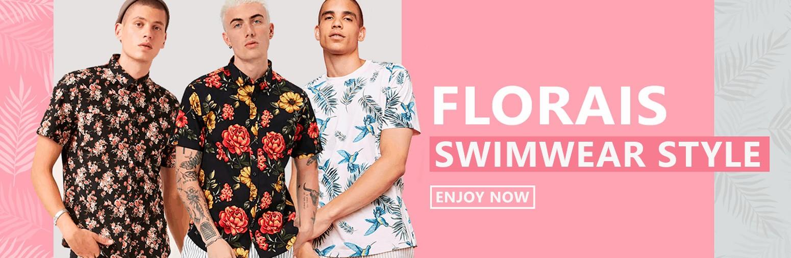 Fashion Spring Summer Shirts Floral Print Calitta 2019