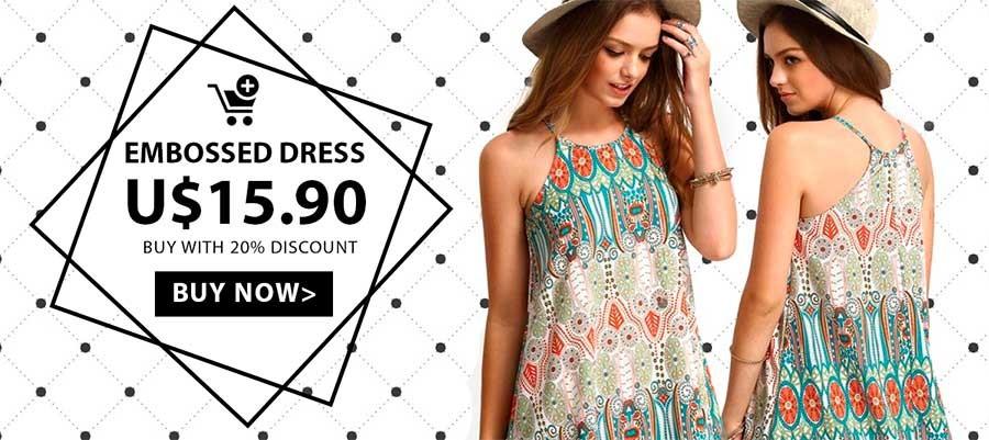 Buy Women's floral print dress at Calitta