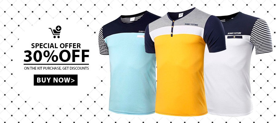 Buy 3 MAsculina T-Shirts and get a 30% discount on Calitta