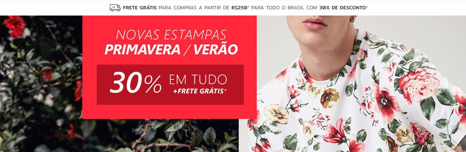 Nova Coleção em Camisas Masculinas de Primavera Floral Calitta Brasil