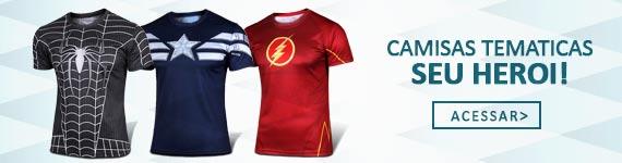 Camisetas Temáticas de Heroi
